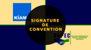 Signature de Convention avec Kiama SA