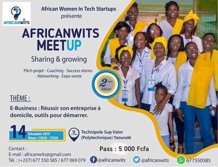 Africanwits MeetUp 2e Edition à Yaoundé